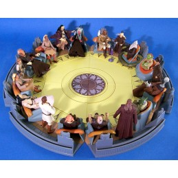 Star Wars OTC The Completed Jedi High Council Screen Scene Set of 6