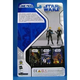 Luke Skywalker & Deena Shan