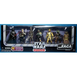 Star Wars Bounty hunter pack PX Previews Exclusive