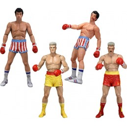 "Rocky series 2 7"" figure set of 4"