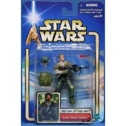 Star Wars Saga ROTJ Endor rebel soldier