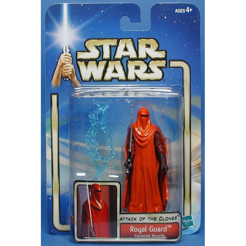 Star Wars AOTC Royal Guard Coruscant Security Action Figure Hasbro