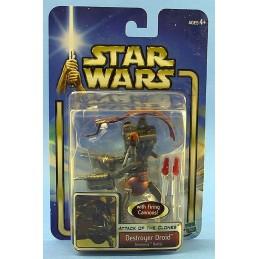 Star Wars Saga AOTC Destroyer droid Geonosis Battle