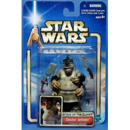 Star Wars Saga AOTC Dexter Jettster Coruscant Informant