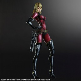 Captain Harlock Play Arts Kai figure Kei 27 cm