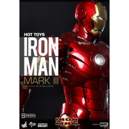 Iron Man figure MMS Diecast...