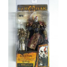 God of War Kratos in golden...