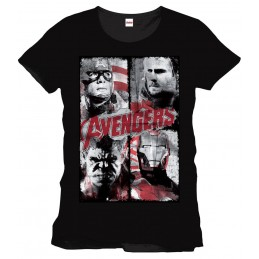 Avengers T-Shirt 4 Faces...
