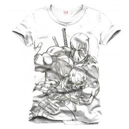 Deadpool T-Shirt Sketch Large