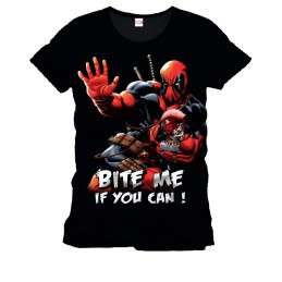 Deadpool T-Shirt Bite Me...