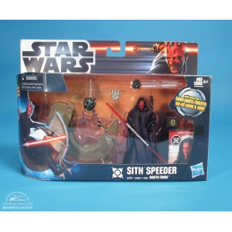Star Wars Sith speeder with...