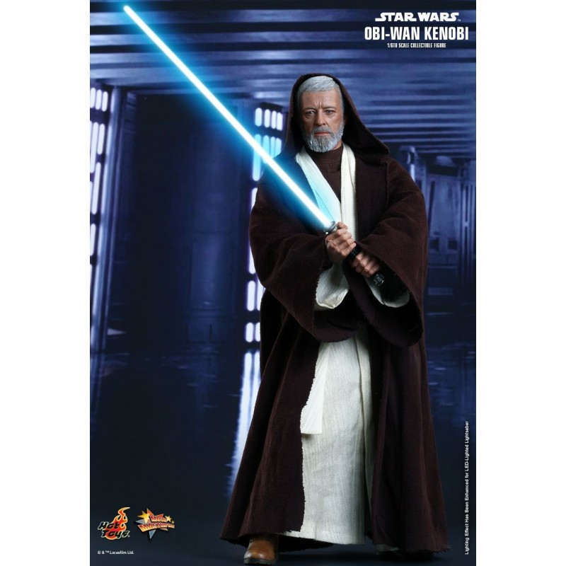 Star Wars Episode Iv A New Hope Obi Wan Kenobi 1 6th Scale Collectible Figure Hot Toys