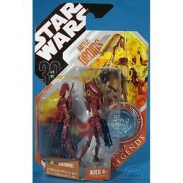 SW 30th Saga Legends Red Battle droids