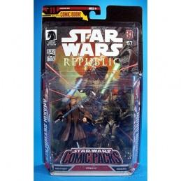 SW Comic Packs Anakin Skywalker & Assassin droid SW Republic n°5