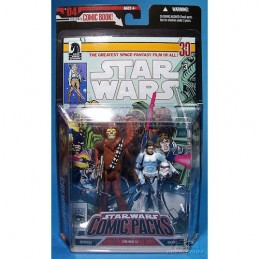 SW Comic Packs Chewbacca & Han Solo SW n°3