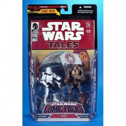 SW Comic Packs Clone commando & Super battle droid Tales n°22