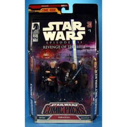 SW Comic Packs Count Dooku & Anakin Skywalker SW ROTS n°1