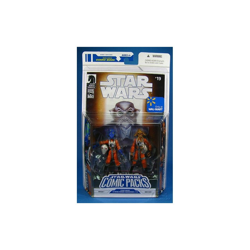 SW Comic Packs Ibtisam & Nrin Vakil Star Wars X-Wing rogue squad