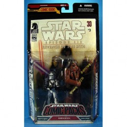 SW Comic Packs Kashyyyk trooper & Wookie Warrior Revenge of the