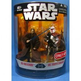 SW Order 66 1 of 6 Obi-Wan Kenobi & Arc trooper commander