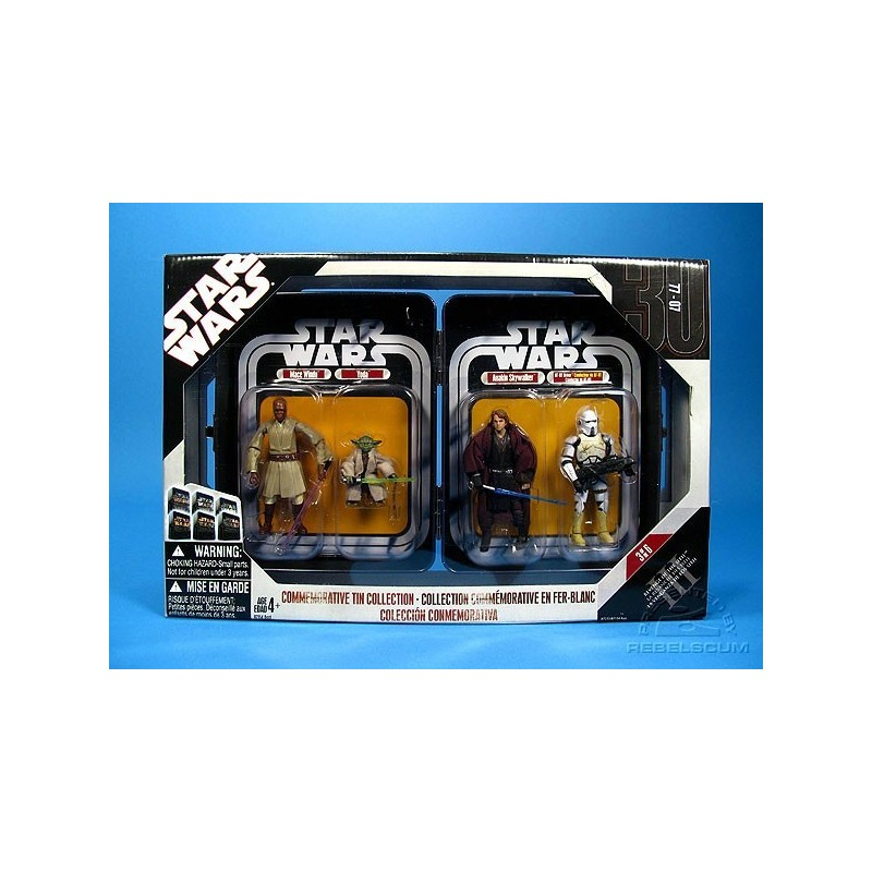 Star Wars Commemorative Tin Collection Star Wars Episode Iii Revenge Of The Sith Figures