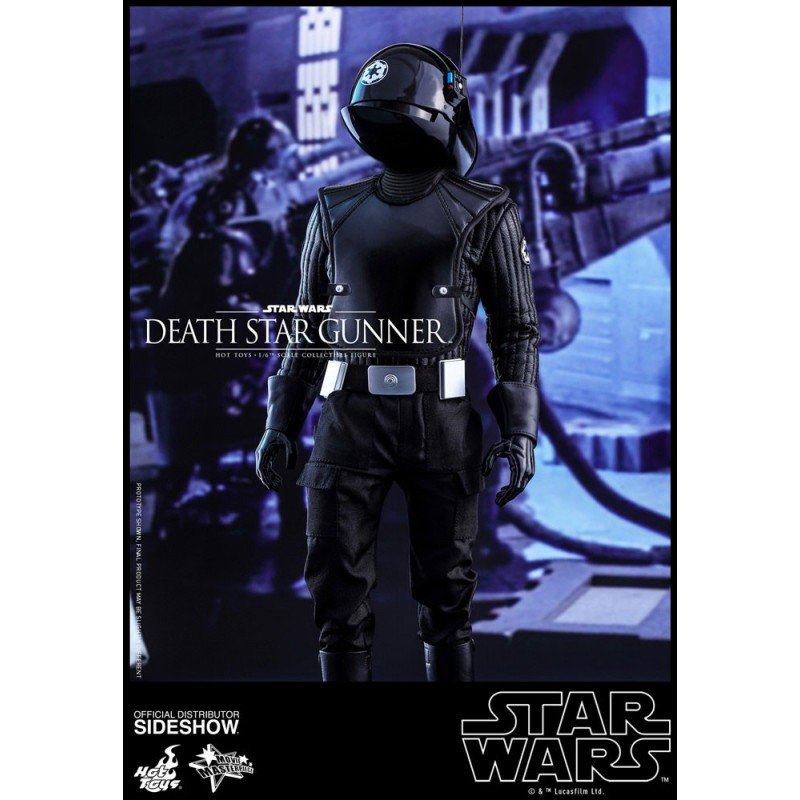 Star Wars Episode Iv Figure Movie Masterpiece 1 6 Death Star Gunner 30 Cm Hot Toys