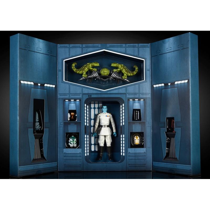 STAR WARS black series Luke Skywalker X-34 Landspeeder de protection écran case