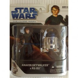 SW The Clone Wars pack Anakin Skywalker & R2-D2