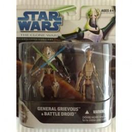 SW The Clone Wars pack General Grievous & Battle droid