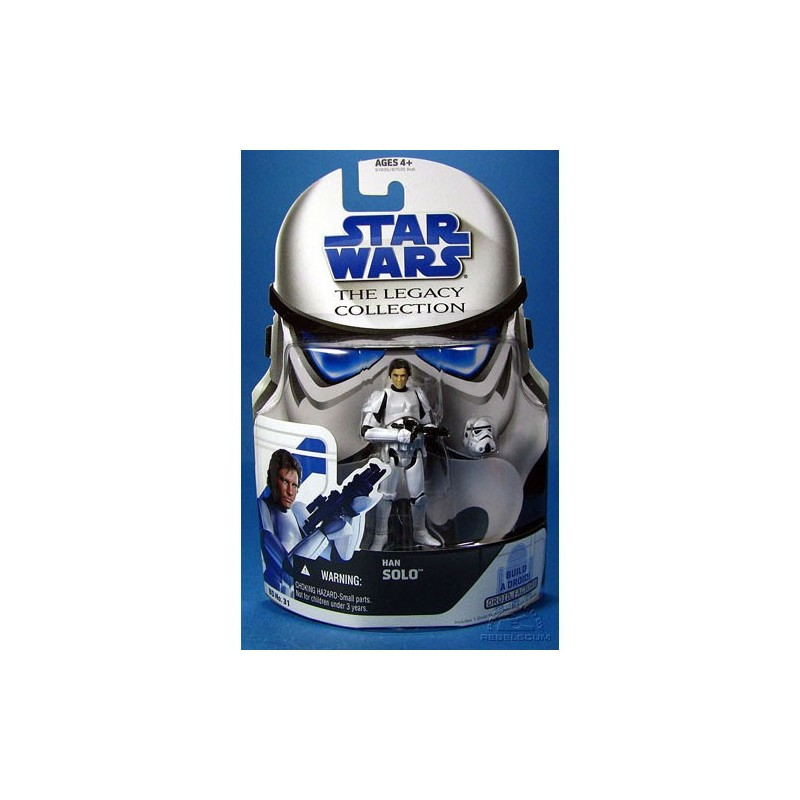 SW The legacy collection Han Solo in stormtrooper disguise