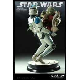 Yoda & Clone trooper Premium Format
