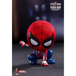 Spider-Man crouching...