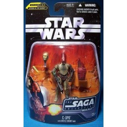 C-3PO with battle droid head Episode II
