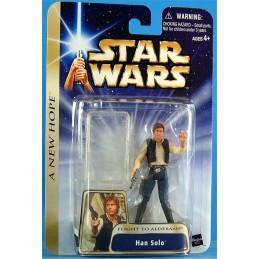 Han Solo flight to alderaan