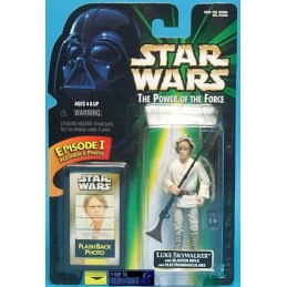 Luke Skywalker with blaster rifle