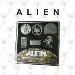 Alien pack 6 pin's Limited...