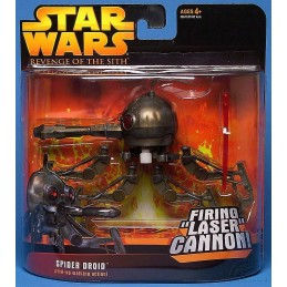 Spider droid  wind-up walking action