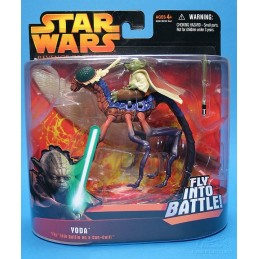 "Yoda""fly"" into battle on a can-cell"