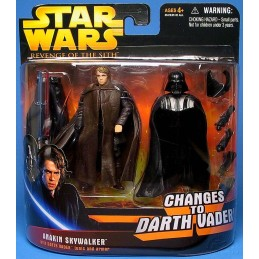 Anakin Skywalker with Darth Vader tunic and armor