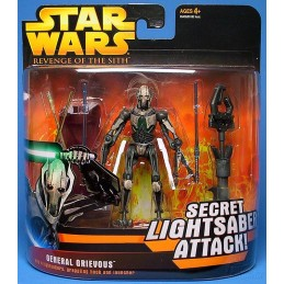 General Grievous with 4 lightsabers