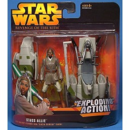 Stass Allie barc speeder changes into battle damage mode