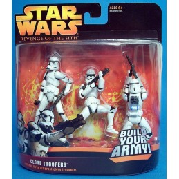Clone troopers includes three different clone troopers blue version
