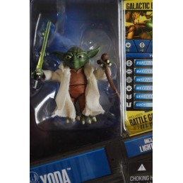Yoda includes lightsaber