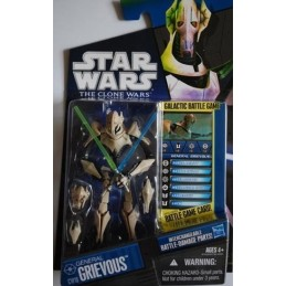 General Grievous interchangeable battle-damage parts