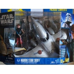 Naboo star skiff with Anakin Skywalker