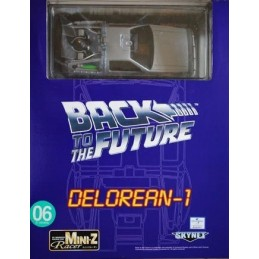Back to the future 1 Delorean 1 Mini Z Racer