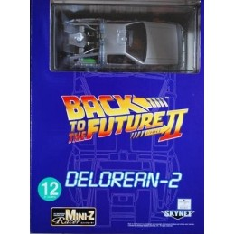 Back to the future 2 Delorean 2 Mini Z Racer