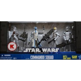 Clone commando squad Kmart Exclusive