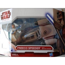Freeco speeder with Obi-Wan Kenobi