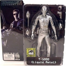 Terminator 2 T-1000 metal liquid 2010 SDCC exclusive